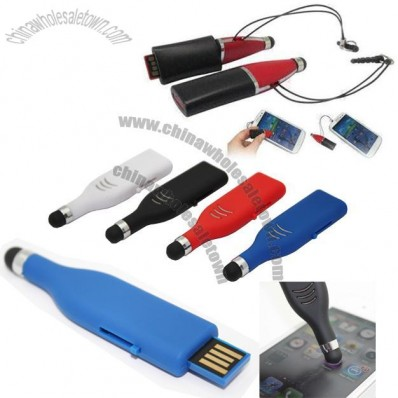 Easy to Use Stylus USB Flash Drive