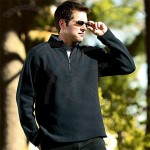 Eclipse Knit Custom Fleece Pullover