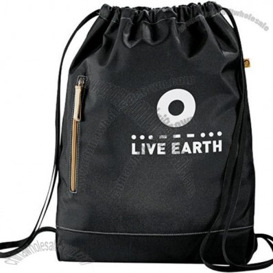 Eco 51% Recycled Owl Cinch Bag