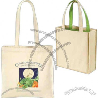 Eco Choice - Organic 8 oz. tote with 26