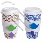 Eco Cup Tea Lovers' Ceramic Cup