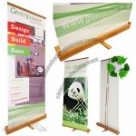 Eco-Friendly Bamboo Banner Stands