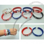 Eco-Friendly Fashion Football Team Bracelet for All Sports
