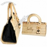 Eco Friendly Tropical Bamboo Handbag