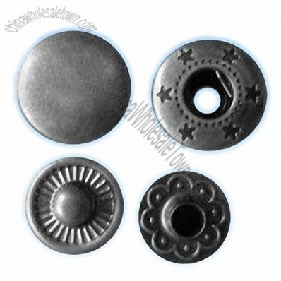 Eco-friendly Prong Type Metal Snap Buttons