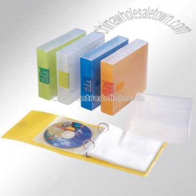 Eco-friendly pp 24 CDs file