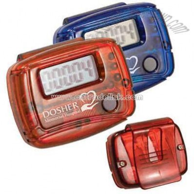 Economy step counter pedometer