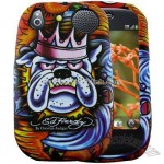 Ed Hardy King Dog Palm Pre Faceplate Cover Case