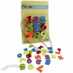 Educational Toy, Wonder Fun Little 26 Magnetic Figures