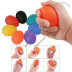 Egg Hand Grip Strength Trainer - Stress Relief Balls
