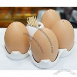 Egg Style Salt And Pepper Shaker Set