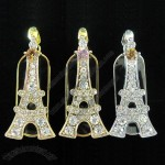 Eiffel Tower Jewelry U Disk USB Flash Drivers Memory
