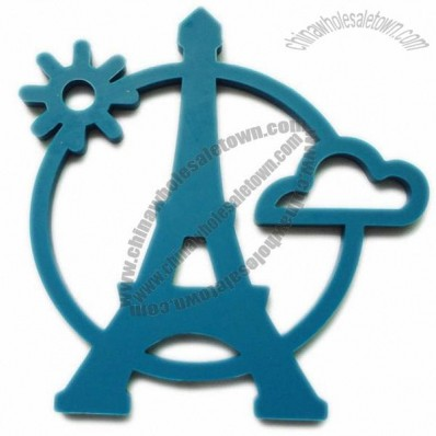 Eiffel Tower Shaped Silicone Coaster
