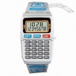 Eight Digits Calculator Watch