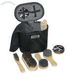 Eight-Piece Shoe Shine Kit