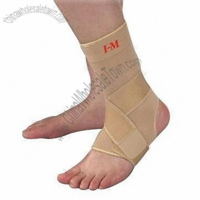 Elastic Compression Ankle Support with Anti-slip Silicone, Used for Warm-up and Cooling Down
