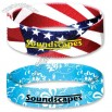 Elastic Dye Sublimated Wristband