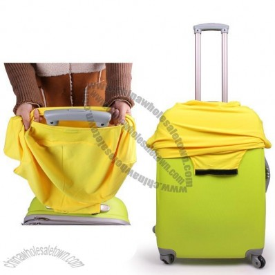 Elastic Luggage Trolley Protective Sleeve