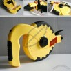 Electric Auto Return Fiberglass Tape Measure