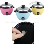 Electric Cooker Shaped Coin Money Bank