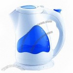 Electric Cordless Water Kettle, Made of Food Safe PP