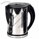 Electric Cordless Water Kettle, Made of Stainless Steel, 2000W Power