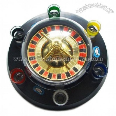 Electric Roulette Game Set for Drinking Game