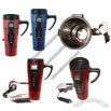 Electric USB Heater Stainless Steel Auto Mug with LCD Temperature Display