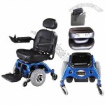Electric Wheelchair with Aluminum Alloy Frame and PG Controller