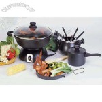 Electric Wok With Fondue Sets
