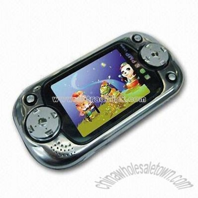 Electronic Handheld Game with MP3 and MP4 Player