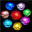 Electronic LED Rose 7 Color Change Roses Flower Novelty Lights Candle