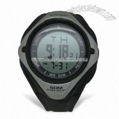 Electronic Movement Multifunction Watch