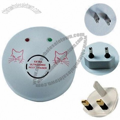Electronic Pest/Rodent/Mouse Repellent, Nontoxic, Harmless to Humans
