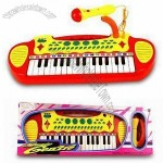 Electronic Toy Keyboard with 31 Standard Keys and 15 Demo Melodies