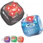 Electronic light up dice