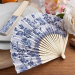 Elegant French Country Design Fan Favors