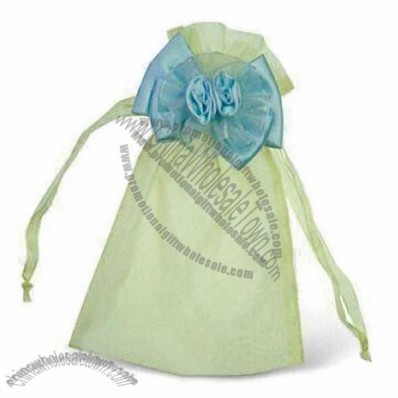 Elegant Novel Organza Fabric Bag