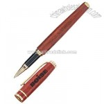 Elegantly shaped Victorian style rosewood roller pen