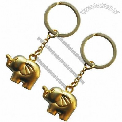 Elephant Shaped Keychain