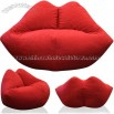 Elite Child Plush Collection Hotlips Bean Bag