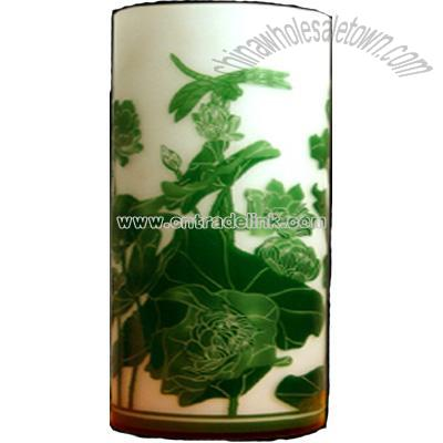 Embossed Glass Vase Suppliers China Embossed Glass Vase