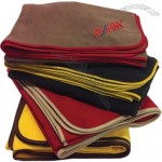 Embroidered Expedition Fleece Blanket