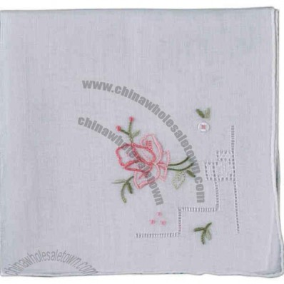 Embroidered Ladies Hankie