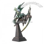 Emerald Dragon Statue