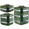 Emerald Grain Houses Multi-storey Insulated Food Containers