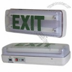 Emergency Exit Light with Built-in Recharging Cord