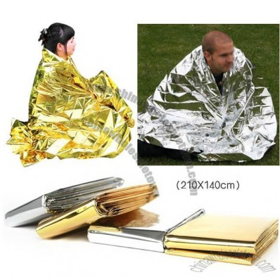 Emergency Survival Blanket Silver/Golden