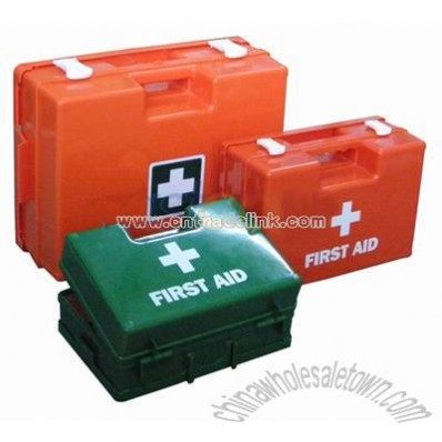 Empty Deluxe First Aid Box