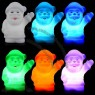 Energy-Saving Santa Claus Christmas LED Mood Light - Features 7 Different Auto Changing Colour LED